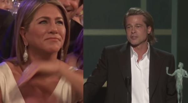 Hollywood: Brad Pitt e Jennifer Aniston insieme ai SAG Awards