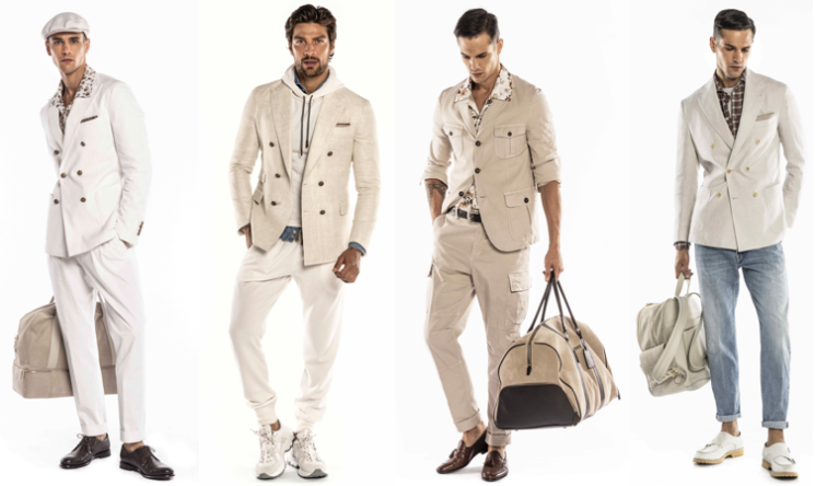 ELEVENTY SS21 MEN'S COLLECTION IL VALORE DEL TEMPO.  LO STILE BUSINESS CASUAL