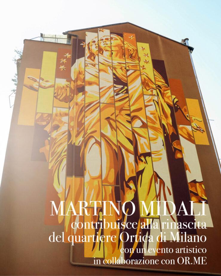 Martino Midali contribuisce alla rinascita del quartiere Ortica di Milano, con un evento artistico in collaborazione con OR.ME