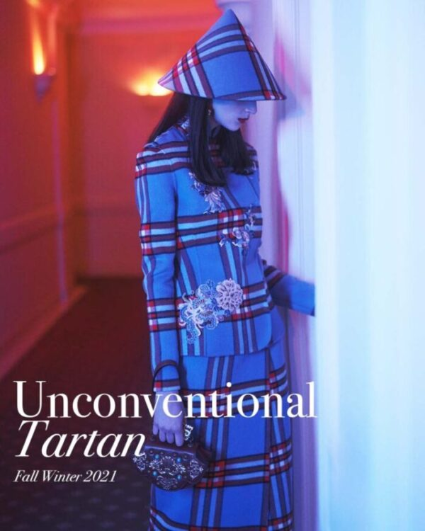 HUI FW20 | Unconventional tartan