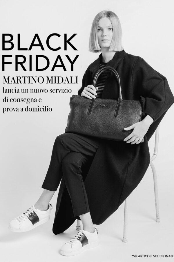Black Friday – Martino Midali lancia un nuovo servizio di consegna e prova a domicilio