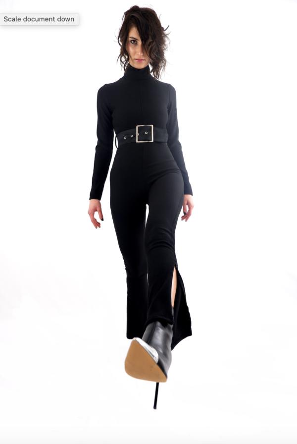 Carmelita Pascale, Collezione Midnight Sun: Tute Total Black & Felpe Oversize.