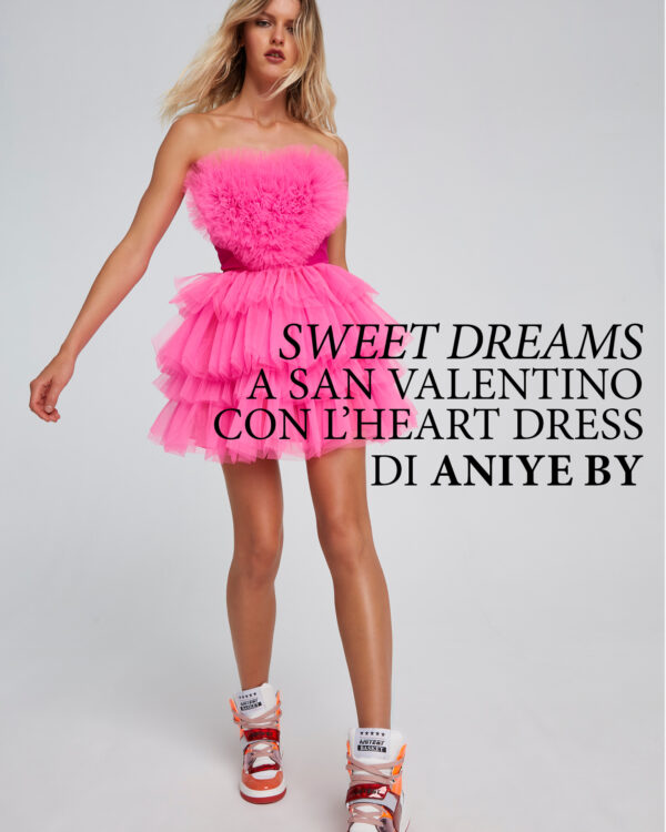 Aniye By | Sweet dreams a San Valentino con l'heart dress