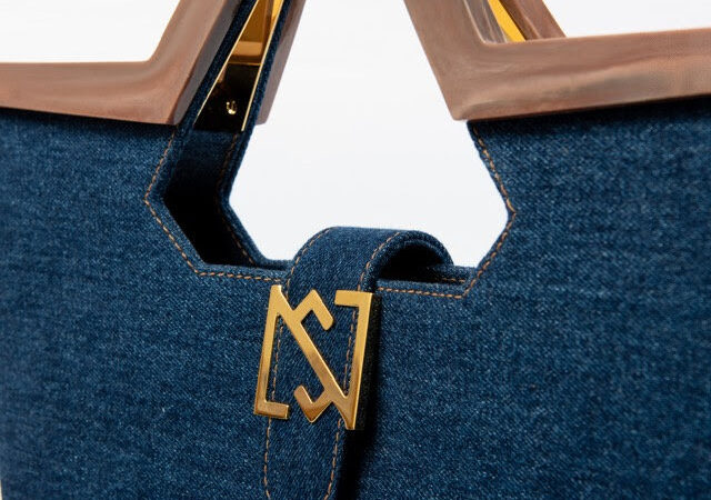 NS by Noof denim bags from recycled ocean plastic waste
